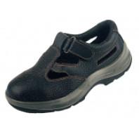 CANIS Obuv STONE NEFRIT kožený sandál černá 213300380000