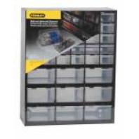 STANLEY Víceúčelový zásuvkový organizer (30 malých a 9 velkých zásuvek) 36,5 x 43,5 x 15,5 cm, 1-93-981