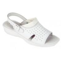 CANIS Obuv LIME sandál kožený bílý dámský 253000710000