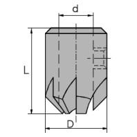 NORMA Záhlubník nástrčný na pr. 4.5 mm 01045