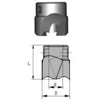 NORMA Záhlubník nástrčný přímý 10 / 25 mm HSS 01861