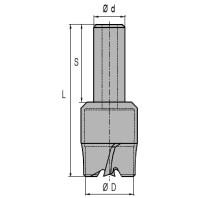 NORMA Zátkovník s válcovou upínací stopkou pr. 20 mm, stopka 16x40 mm 10020