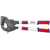 KNIPEX Kabelové nůžky s teleskopickými rukojeťmi ráčnové 630 mm 9532060