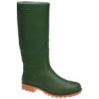 INDUSTRIAL Holínky PVC vysoké zelené 06310