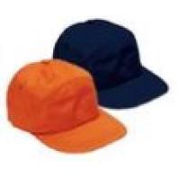 INDUSTRIAL Čepice bavlněná s kšiltem modrá, oranžová 04377