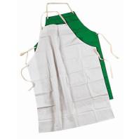 INDUSTRIAL Zástěra PVC/POLY/PVC bílá, zelená 20 ks 00805