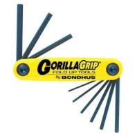 BONDHUS Kapesní sada Gorila Grip inch střední 9dílná 12589