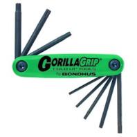BONDHUS Kapesní sada Gorila Grip Torx velká 8dílná 12634