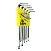 BONDHUS Sada L-klíčů BLX 13 B inch chrom 16937