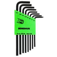 BONDHUS TLX 8 S sada torx T6-T25 bez kuličky 31832