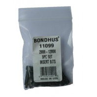 BONDHUS BIX 9 BIT sada metric krátkých 11099
