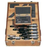 MITUTOYO Sada třmenových mikrometrů 0-75 mm s řehtačkou, 103-927-10