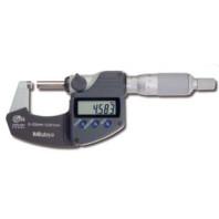 MITUTOYO Digitální třmenový mikrometr DIGIMATIC IP65 s bubínkovou řehtačkou 25-50 mm s výstupem dat, 293-235-30