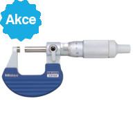 MITUTOYO Třmenový mikrometr 0-25 mm s bubínkovou řehtačkou, 102-701