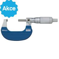 MITUTOYO Třmenový mikrometr 25-50 mm s bubínkovou řehtačkou, 102-708