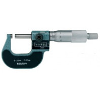 MITUTOYO Digitální třmenový mikrometr 25-50 s mechanickým čítačem, 193-102