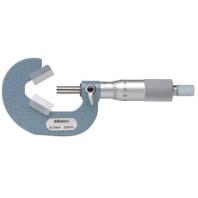 MITUTOYO Třmenový mikrometr 10-25 mm s prizmatickým měřícím dotekem, 114-162