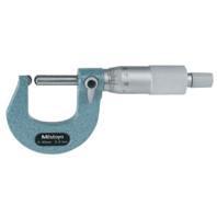 MITUTOYO Třmenový mikrometr 0-25 mm s jedním kulovitým dotekem, 115-115