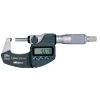 MITUTOYO Digitální třmenový mikrometr DIGIMATIC 0-25 mm s vypouklým dotekem a výstupem dat, 395-251