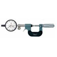 MITUTOYO Třmenový mikrometr 0-25 mm pro sériová měření (bez úchylkoměru), 107-201