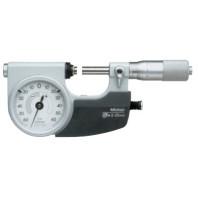 MITUTOYO Třmenový mikrometr 0-25 mm ve zvláštním provedení pro sériová měření IP54, 510-121