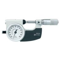 MITUTOYO Třmenový mikrometr 25-50 mm ve zvláštním provedení pro sériová měření IP54, 510-122