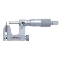 MITUTOYO Třmenový mikrometr 25-50 mm s vyměnným dotekem, 117-102