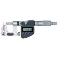 MITUTOYO Digitální třmenový mikrometr DIGIMATIC 0-25 mm s výměnným dotekem s výstupem dat IP65, 317-251