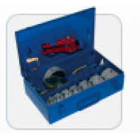 DYTRON Elektronická ruční svářečka komplet P-4a 1200W PROFI 40-90 mm desková modrý DT povlak 02366