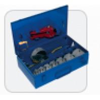 DYTRON Elektronická ruční svářečka komplet P-4a 1200W PROFI 75-125 mm desková modrý DT povlak 36633