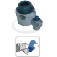 DYTRON Čelisťový svařovací nástavec pr. 40 mm modrý DT povlak 02347