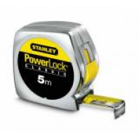 STANLEY Svinovací metr Powerlock s plastovým ABS pouzdrem 5 m x 25 mm, 1-33-195
