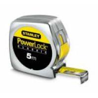 STANLEY Svinovací metr Powerlock s plastovým ABS pouzdrem 8 m x 25 mm, 1-33-198