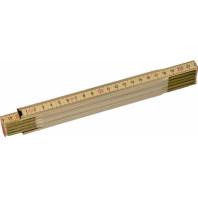 STANLEY Skládací metr dřevěný s přírodním povrchem 2 m x 15 mm, 0-35-455
