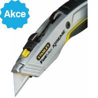 STANLEY Dvouplátkový zasouvací nůž FatMax Xtreme 180 mm, 0-10-789