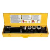 REMS Kufr z ocelového plechu s vložkou pro pro ráčnu, 4 rychlovyměnitelné řezné hlavy S a prodloužení, /bez nářadí/ 526052