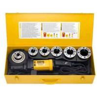 REMS Elektrická závitnice REMS Amigo 2 Compact Set v kufru z ocelového plechu, Set R 1/2-3/4-1-1 1/4-1 1/2-2 palce 540024