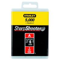 STANLEY Sponky LD typ A 5/53/530 6 mm 5000 ks, 1-TRA204-5T