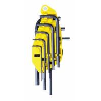 STANLEY Sada klíčů šestihranných zástrčných v palcových mírách v plastovém držáku 8dílná, 0-69-252