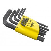 STANLEY Sada klíčů zástrčných prodloužených s kuličkou v plastovém držáku 9dílná, 1-13-976