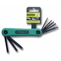 STANLEY Sada nožová klíčů zástrčných TORX 8dílná, 4-69-263