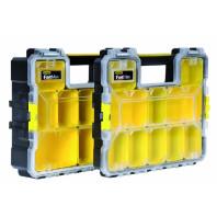 STANLEY Organizér na nářadí FatMax profesionální voděodolný s kovovými přezkami 44,6 x 7,4 x 35,7 cm, 1-97-517