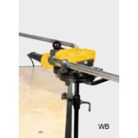 REMS Držák přístroje WB, výškově nastavitelný pro připevnění na pracovní stůl, pro elektrickou ohýbačku REMS Curvo a akumulátorovou ohýbačku REMS Akku-Curvo 586150