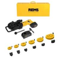 REMS Akku-Curvo Li-Ion Set12-14-16-18-22-28, Akumulátorová ohýbačka trubek, 18 V 580081