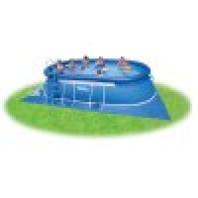 Bazén Tampa ovál 3,05x5,49x1,07 m komplet + KF   10340040