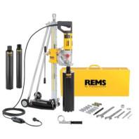 REMS Picus S3 Set 62-82-132 Titan, Elektrický diamantový jádrový vrtací stroj 180028