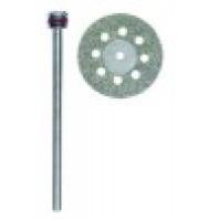 PROXXON Diamantový dělicí kotouč pr. 20 mm s chladícími otvory + dřík 28844
