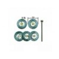 PROXXON Kruhové ocelové kartáčky - 5 ks  28952