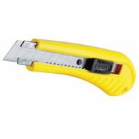STANLEY Nůž standard s odlamovací čepelí s pojistkou 180 x 18 mm, 1-10-280