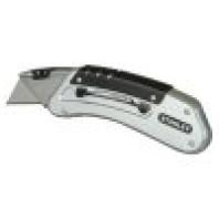 STANLEY Kovový kapesní nůž Quickslide se zasouvací čepelí 140 mm, 0-10-810